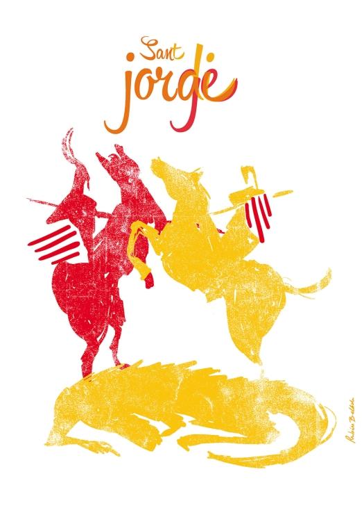 san Jorge vs san Jordi